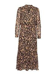 ClariceIW Dress - OLIVE LEAF IRREGULAR ANIMAL