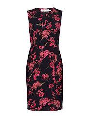 MahinIW Slim Dress - PINK PETUNIA ELDERFLOWER