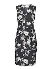 MahinIW Slim Dress - RUST ELDERFLOWER