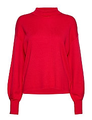 IlzeIW Wanetta Pullover - REAL RED