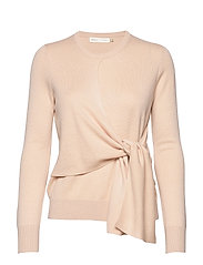 EmaleeIW Tie Pullover - FRENCH NOUGAT