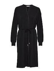 OritIW Shirt Dress - BLACK