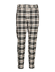 JannahIW Pant Nica Fit - BLACK AND WHITE