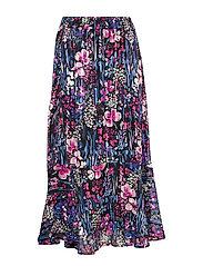 InWear LondonIW Skirt - BLACK FLOWER EXPLOSION