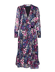 InWear LondonIW Dress - BLACK FLOWER EXPLOSION
