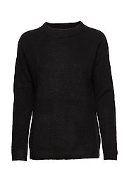 PapinaIW Oneck Pullover - BLACK