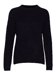 PapinaIW Oneck Pullover - MARINE BLUE