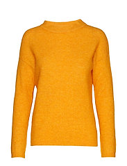 PapinaIW Oneck Pullover - SUNNY YELLOW