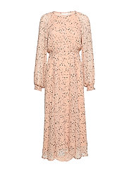 RebeccaIW Dress - POWDER SMALL DOTS