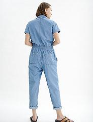 InWear - BobiIW Jumpsuit - buksedragter - blue denim - 4