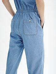 InWear - BobiIW Jumpsuit - buksedragter - blue denim - 5