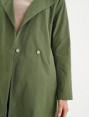 InWear - YumaIW Coat - trenchcoats - beetle green - 6