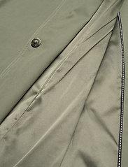 InWear - YumaIW Coat - trenchcoats - beetle green - 9