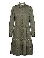 VexIW Dress - BEETLE GREEN