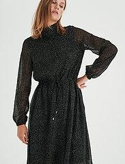 InWear - VilmaIW Dress - alledaagse jurken - black minimal dot - 0