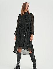 InWear - VilmaIW Dress - alledaagse jurken - black minimal dot - 4