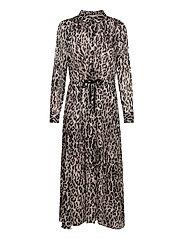 VengaIW Dress - ASH GREY WILD LEO