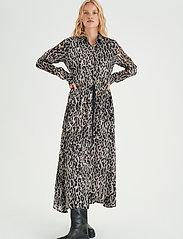 InWear - VengaIW Dress - alledaagse jurken - ash grey wild leo - 3