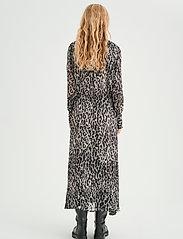 InWear - VengaIW Dress - alledaagse jurken - ash grey wild leo - 4