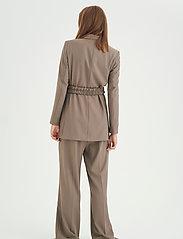 InWear - OraIW Wide Pant - bukser med brede ben - sandy grey - 4