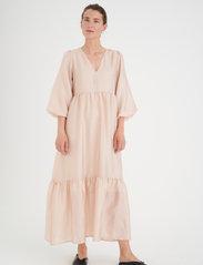 InWear - YivaIW Dress - sommerkjoler - powder beige - 3