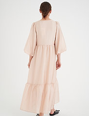 InWear - YivaIW Dress - sommerkjoler - powder beige - 4