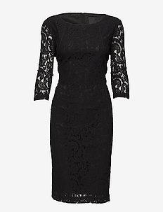 Patrice - spetsklänningar - black