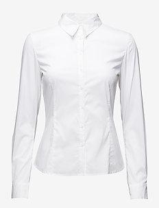 Verla - overhemden met lange mouwen - pure white