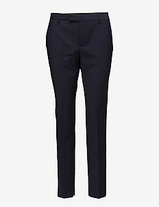Kinsa - trousers with skinny legs - marine blue