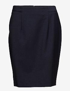 Ninsa - spódnice do kolan i midi - marine blue