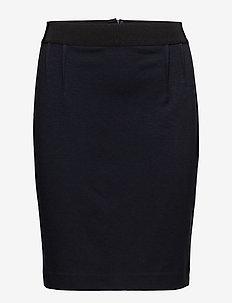 Olally - midi kjolar - marine blue