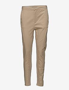 Calder Pant - slim fit trousers - cafe au lait