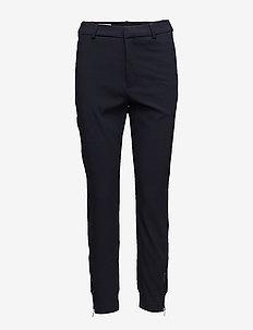 Nica L Pants - rette bukser - marine blue