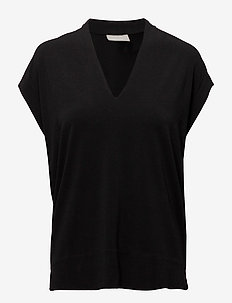 Yamini Top - basic t-shirts - black