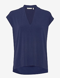 Yamini Top - t-shirts - ink blue