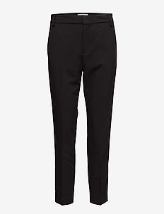 Leigh Cigarette Pant - straight leg hosen - black