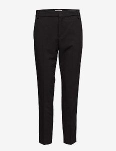 Leigh Cigarette Pant - straight leg trousers - black