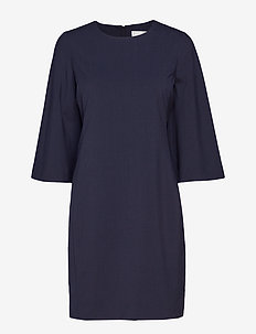 Chaia Dress - robes midi - marine blue