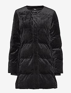 Saffira Coat - wyściełane płaszcze - black