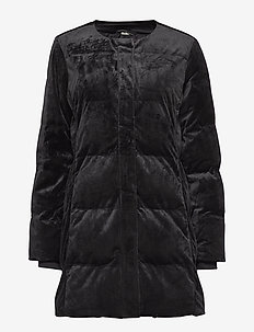 Saffira Coat - dynefrakke - black