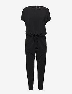 Siri Jumpsuit - buksedragter - black