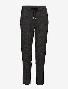 Gudrun Pant Nica Fit - casual bukser - dark grey melange