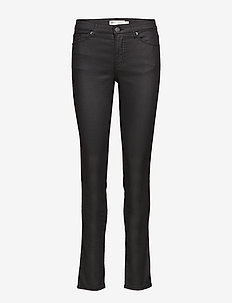Guilie Jeans - dżinsy skinny fit - black
