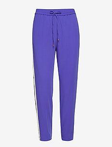 Lori HS_18 Trackpant HW - sweatpants - royal blue