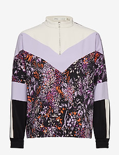 Hestia Shirt - PURPLE FLOWERS