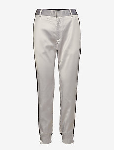 Terrie Pant Nica Fit - pantalons slim fit - silver