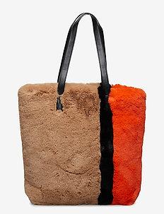 Porter Tote Bag - casual shoppers - multi stripe