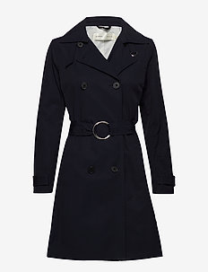Undine Coat - MARINE BLUE