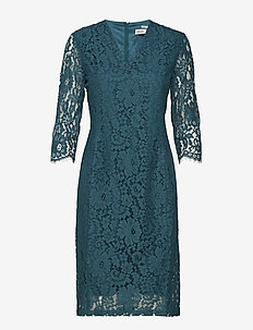 Zada Dress YE 18 - DEEP TEAL