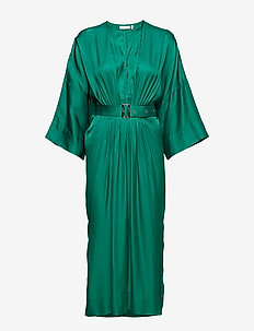 Hattie Dress - PEPPER GREEN